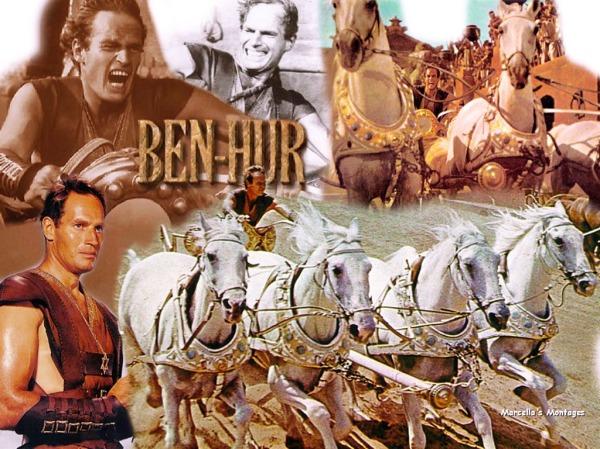 Ben Hur y la cuadriga