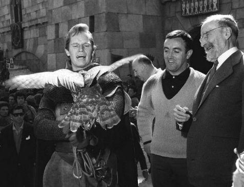 Charlton Heston, Menendez Pidal, Felix Rodriguez de Lafuente