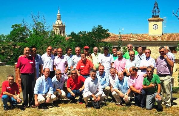 Ex alumnos seminaristas.- Fotografía del blog de J.A. Caamaño