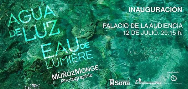 Exposicion Agua de Luz  J M Munoz Monje