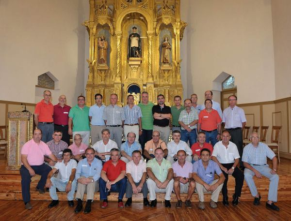 Ex-seminaristas del Burgo de Osma, agosto de 2012 en la Capilla Mayor