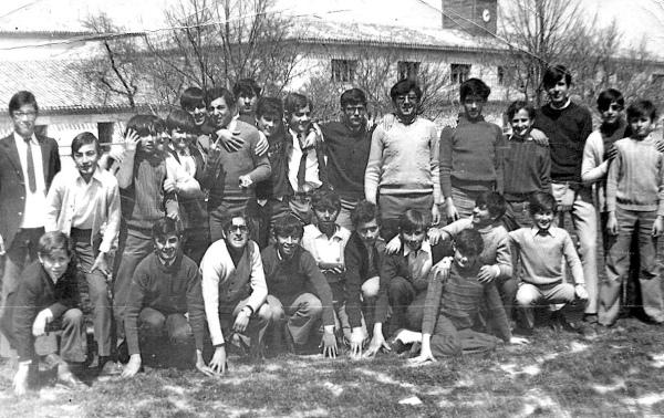 En el Seminario del Burgo de Osma, en domingo o día festivo. Foto del blog de J.A. Caamaño