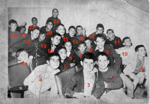 Eramos unos niños al entrar en el Seminario del Burgo de Osma (Foto del Blog de J.A. Caamaño)