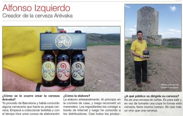Alfonso Izquierdo Cerveza Arevaka