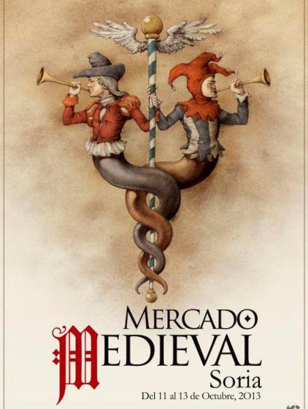 Cartel-Mercado-Medieval-de-Soria-2013