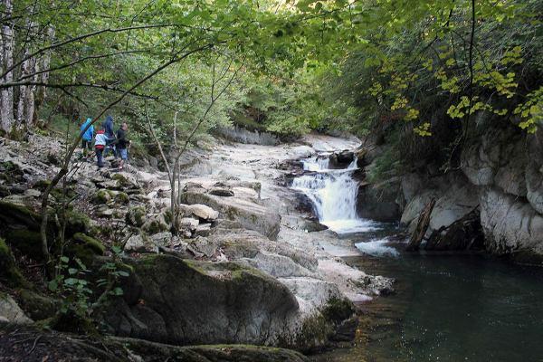 Cascada el Cubo - Fotografías cedidas por el Archivo de Turismo 'Reyno de Navarra' www.turismo.navarra.e