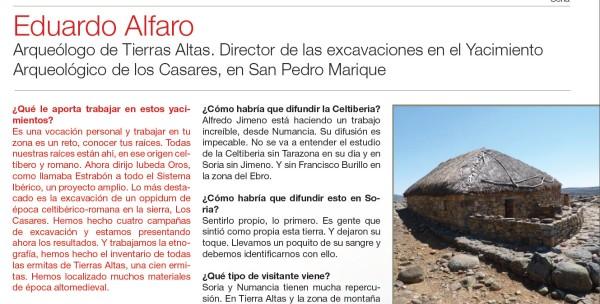 Eduardo ALfaro entrevista