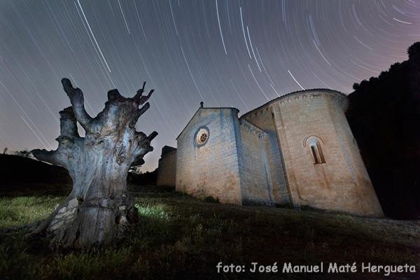 Ermita templaria de San Bartolomé de Ucero y giro estelar