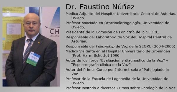 Faustino Nuñez Patologia de la Voz