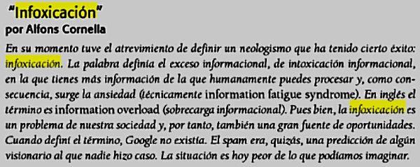 Infoxicacion,-Cornella