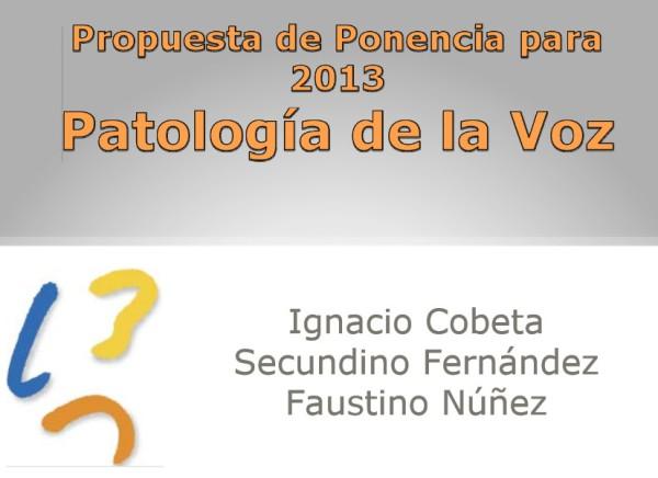 Patologia de la Voz