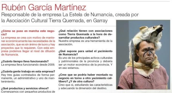 Ruben Garcia Martinez Tierra Quemada Numancia