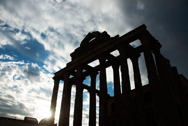 Templo de Diana en el en el Algarve - Fotografía de Jesús María Muñoz Monge