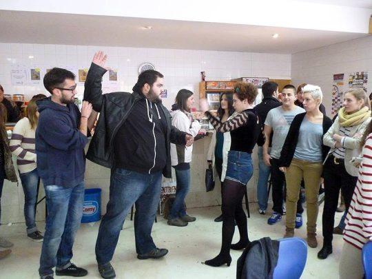 Performance-contra-violencia-de-genero-en-Soria