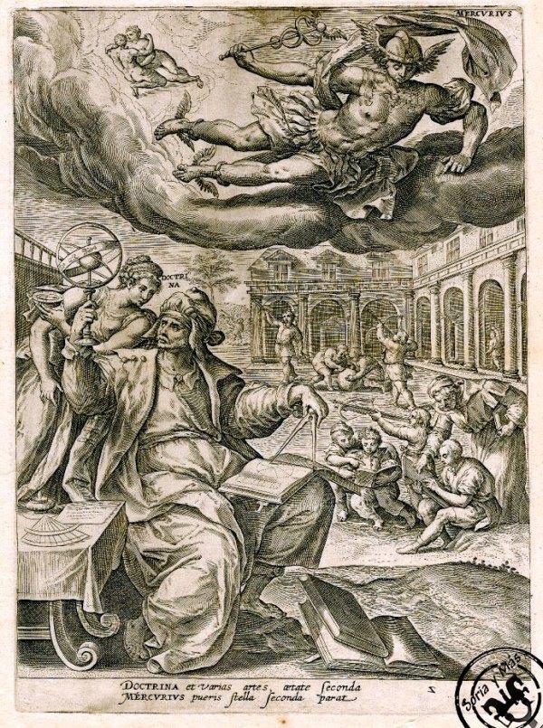 Mercurio-en-Martin-de-Vos-de-1581