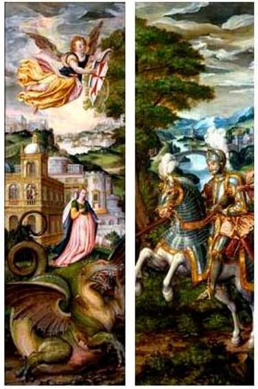 San Jorge, la doncella y el Dragón