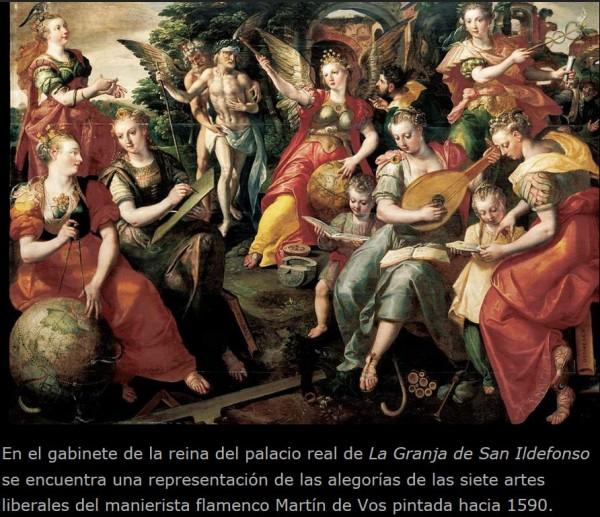 Sierte Artes Liberales_Martin de Vos