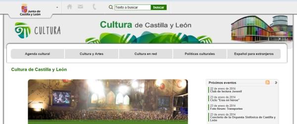 Agenda Cultural de Castilla y Leon home