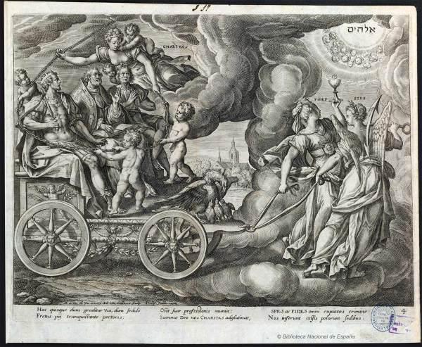 Trium-humani-generis-ordinum-4-Martin-de-Vos_Virtudes-teologales