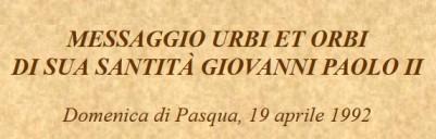 Yo Soy_mensaje de Juan Pablo II