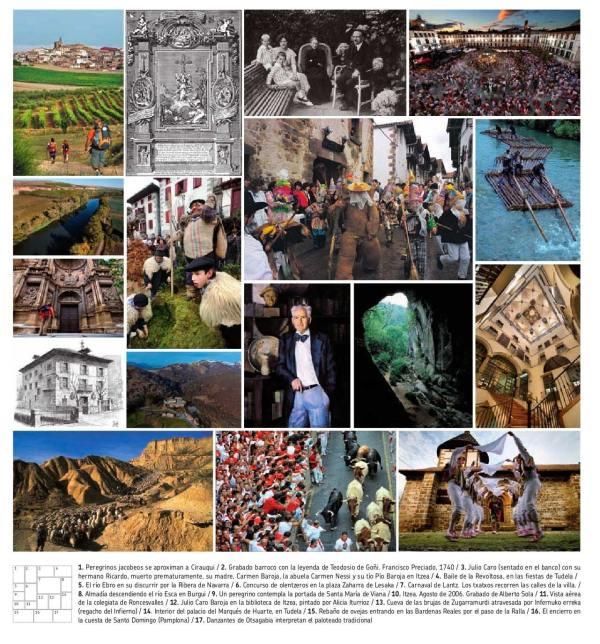 Folleto-homenaje-Julio-Caro-Baroja-Turismo Reyno de Navarra