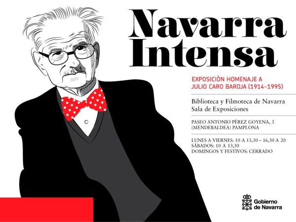 Julio-Caro-baroja,-homenaje-Navarra-Intensa