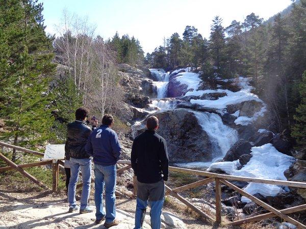 cascadas en Valle de Boi
