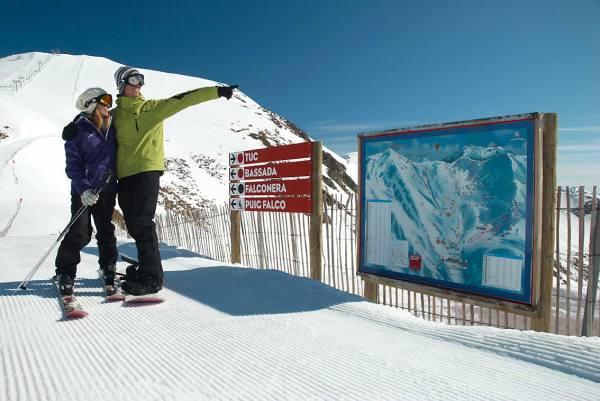 esqui en valle de Boi