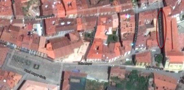 Calle-de-los-Miranda-en-Soria