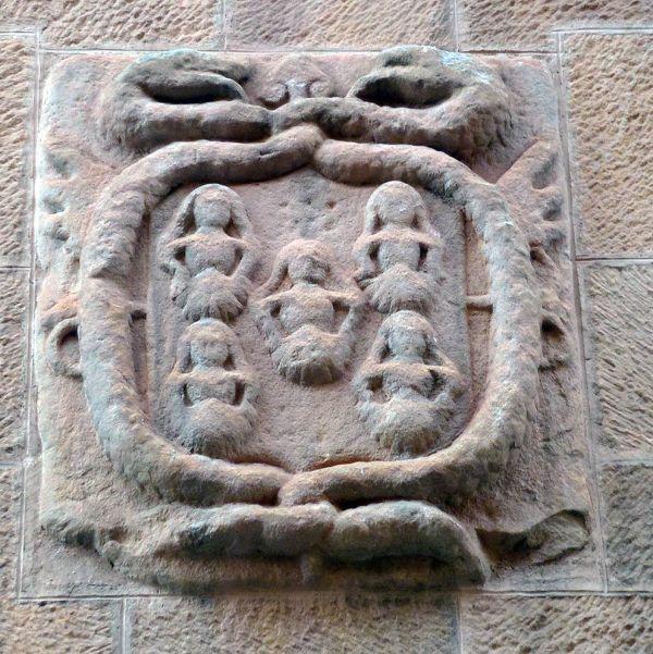 Escudo de los Miranda en Soria