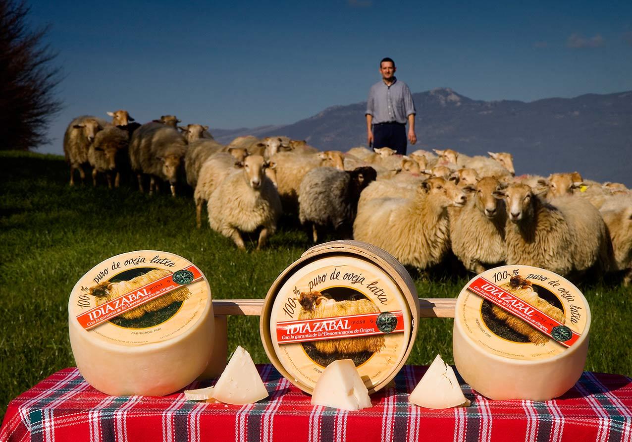 Resultado de imagen de queso de oveja idiazabal