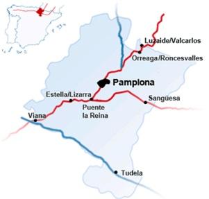 Camino-Santiago-en-Navara-mapa