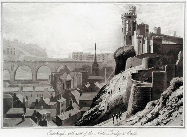 Castillo-de-Edimburgo-en-grabado-1