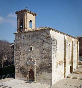 Sta Mª Jus del Castillo- Estella. Foto Turismo Reyno de Navarra. Oriol Conesa fotógrafo.